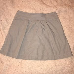 J. Crew Small Gray Skirt w/ Pockets